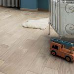 solid parquet floor / glued / oak / brushed