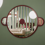 wall-mounted mirror / contemporary / round / by Jaime Hayon