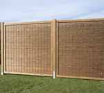 garden fence / louvered / pine / screening