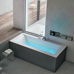 integrated bathtub