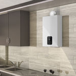 gas instant water heater / wall-mounted / vertical / residential