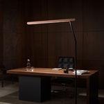 floor-standing lamp / contemporary / aluminum / adjustable