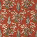 upholstery fabric / for curtains / floral pattern / cotton