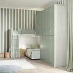 gray children's bedroom furniture set