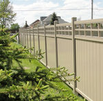 garden fence / with panels / PVC