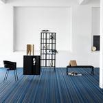 vinyl flooring / interior / FloorScore®-certified / woven