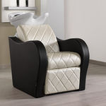 shampoo chair with footrest