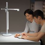 table lamp / contemporary / metal / adjustable
