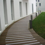 resin profile / aluminum / methacrylate / for steps