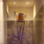 waterfall shower / for spa / bucket