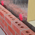 steel fastening system / for facade cladding / for ventilated facades