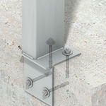 stainless steel pillar / wind