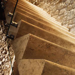 marble step covering
