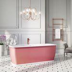 free-standing bathtub / stone