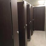 public washroom toilet cubicle