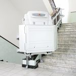 handicapped platform stair lift