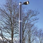 urban lamp post