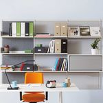 wall-mounted shelving system