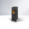 wood heating stove / gas / contemporary / metal