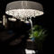 contemporary chandelier / crystal / handmade