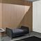 fixed partition / demountable / wooden / aluminum