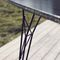 powder-coated steel table base / contemporary / commercial