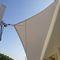 triangular shade sail / rectangular / fabric