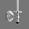 wall-mounted toilet roll holder / chrome / bronze / commercial