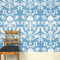 traditional wallpaper / floral / damask