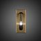 contemporary wall light / polycarbonate / solid aluminum / LED