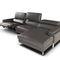 modular sofa / original design / leather / 3-seater