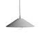 pendant lamp / contemporary / concrete / dimmable