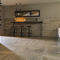 indoor tile / floor / porcelain stoneware / square