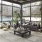 indoor tile / floor / porcelain stoneware / square