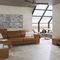 indoor tile / floor / ceramic / square