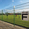 athletic field fence / wire mesh / with bars / steel