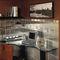 indoor tile / kitchen / floor / metal