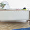 contemporary sideboard / oak / lacquered MDF / painted wood