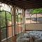 swing patio door / wrought iron