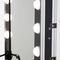 contemporary dressing table / plastic / for hairdressers / backlit