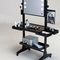 contemporary dressing table / wooden / for hairdressers / backlit