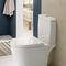 contemporary bathroom / ceramic / glass