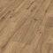 oak laminate flooring / floating / wood look / rustic look