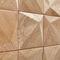 wood decorative panel / wall-mounted / 3D / matte