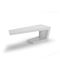 public bench / contemporary / high-performance concrete
