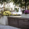 concrete planter / rectangular / contemporary / for public spaces