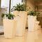 polyethylene planter / vertical / contemporary / for public spaces