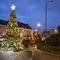 public space Christmas lights