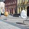 fiberglass sculpture / outdoor / for public buildings