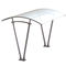 polycarbonate canopy cycle shelter